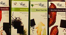 Vosges Chocolate Bars